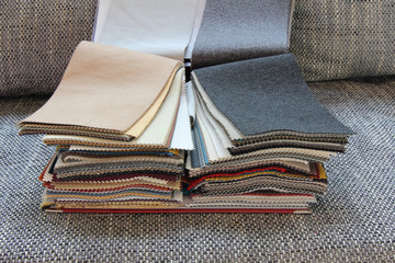 Fabric for upholstery the furniture
