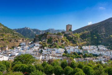 View of Cazorla, Jaen Province, Andalusia, Spain