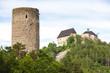 castles Zebrak and Tocnik, Czech Republic