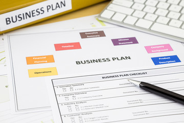 Business plan checklist and paperwork
