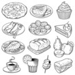 Vector Food Illustrations - 72008545