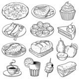 Vector Food Illustrations - 72008545