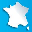 Carte France-1 - 72008983