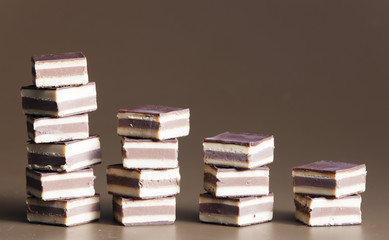 nougat chocolate candies
