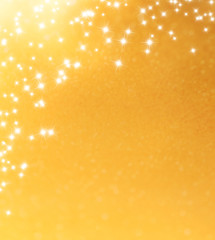 abstract shiny golden festive background