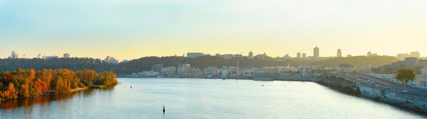 Kiev panoramic view