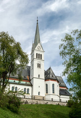 Saint Martin Church in Bled