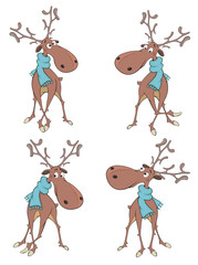 The complete set of deer