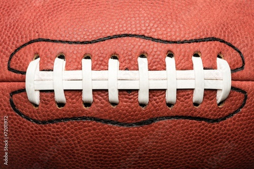 canvas print picture Close Up American Football