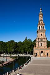 Площадь Испании (Plaza de España). Севилья. Испания.