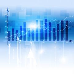 Finance Stock Market Diagram