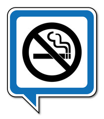 Logo interdiction de fumer.