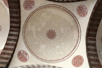 Details ceiling arcade of blue mosque