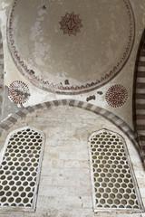 Ceiling arcade of blue mosque