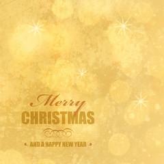goldene weihnachtsgrüsse