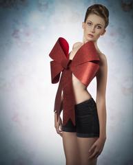 lovely female christmas gift