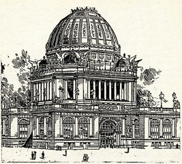 Chicago Exposition 1893 - Administration Building
