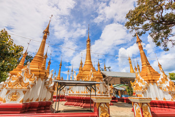 Pagoda at Inle lake in Shan state of Myanmar