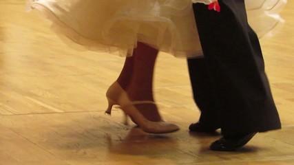 Бальные танцы ноги танцоров