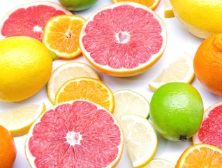 Assortment of citrus