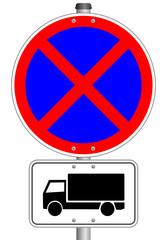 LKW Schild Parkverbot #141023-svg06