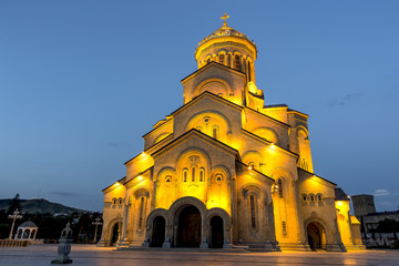Holy Trinity Cathedral of Tbilisi Georgia