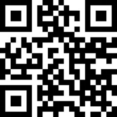 Simple QR code label.