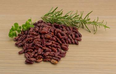 Raw bean