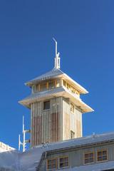 Wetterstation auf dem Fichtelberg