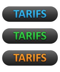 """Boutons Web """"TARIFS"""" (prix offres catalogue produits services)"""