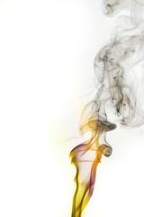 smoke of Joss stick