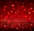 christmas background - shining red glitter