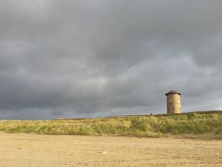 Turm am Strand von Domburg