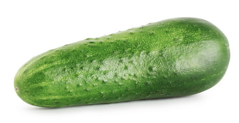 Tasty ripe cucumber
