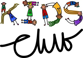 Kids Club Title Text