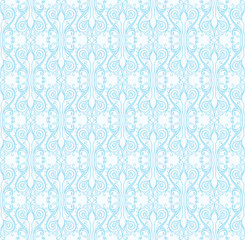 Beautiful lace winter seamless pattern.