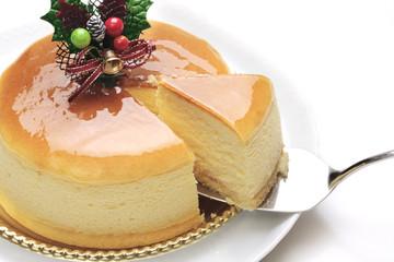 クリスマススフレケーキ