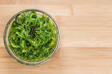 Portion of Kelp Salad