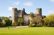 Leinwandbild Motiv Malahide Castle Dublin Ireland
