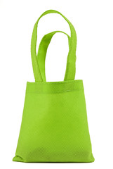 Green Neon Cloth Shopping Bag