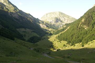 Moyenne montagne du Pays basque