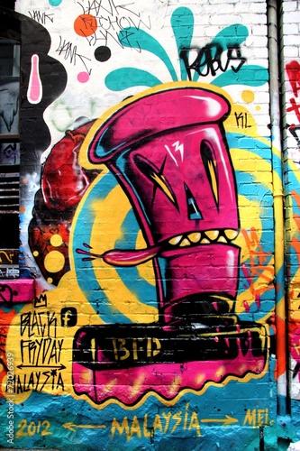 mata magnetyczna Ulica LA, Melbourne