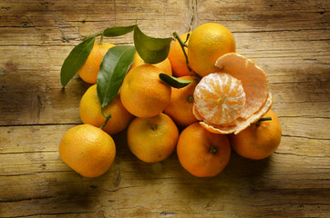 Citrus × clementina Clementine Clementin Клементин