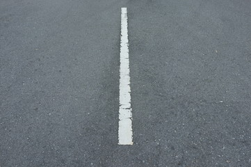 Road asphalt  texture with  lines white  stripe