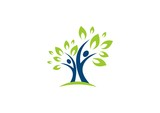 Fototapety people,tree,leaf,ecology,nature,logo,wellness,healthy,life