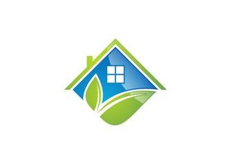house,home,real estate,logo,resident,villa,resort,plant business
