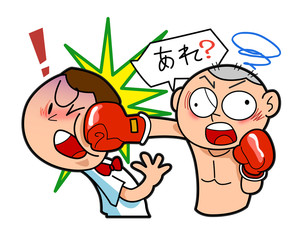Boxing-Was hit by mistake