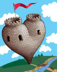 Heart tower