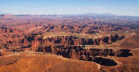 View from Island in the Sky, Canyonlands National Park, Utah, US