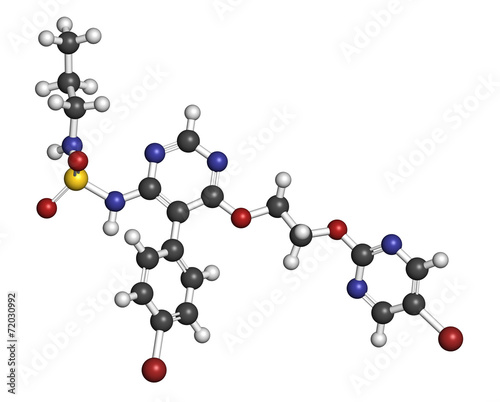 Macitentan pulmonary arterial hypertension drug molecule. - 72030992
